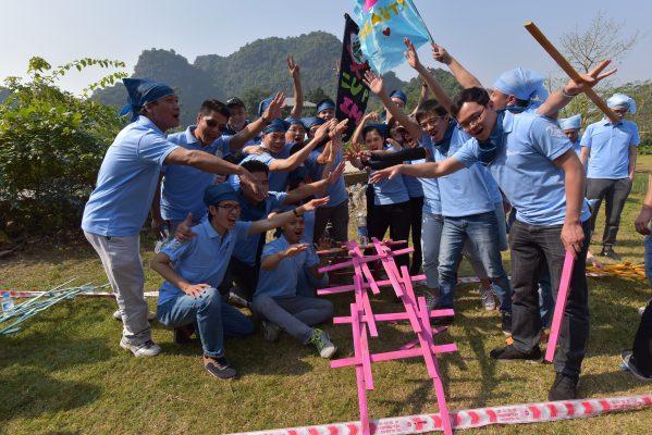 Tổ chức team building uy tín, chuyên nghiệp nhất