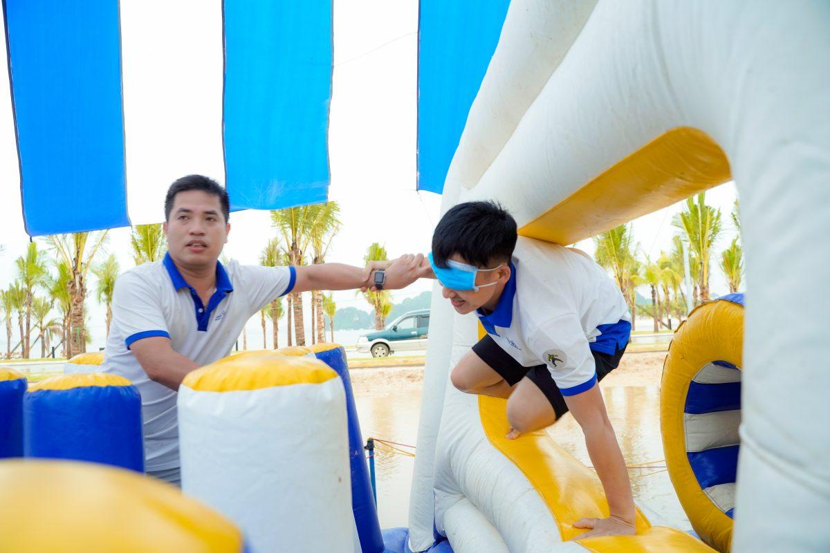 Bãi biển tổ chức team building