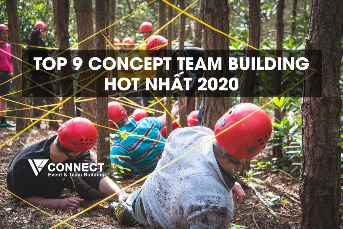 Top 9 concept team building hot 2020