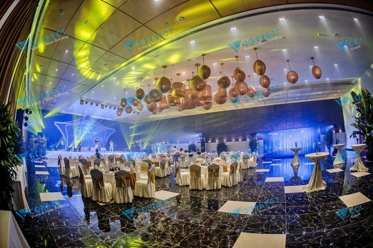 Địa điểm tổ chức Welcome Party của SHB Finance
