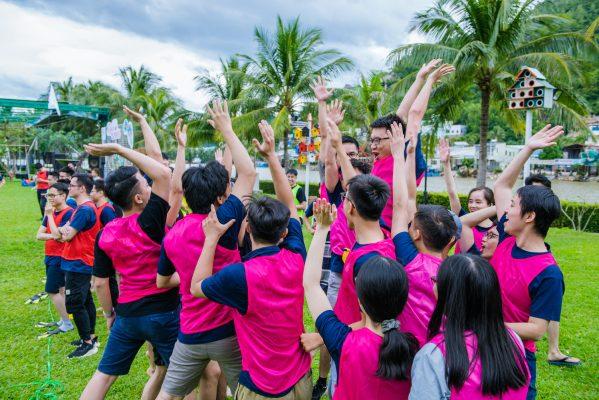 Tour du lịch tem building nâng cao kỹ năng làm việc nhóm